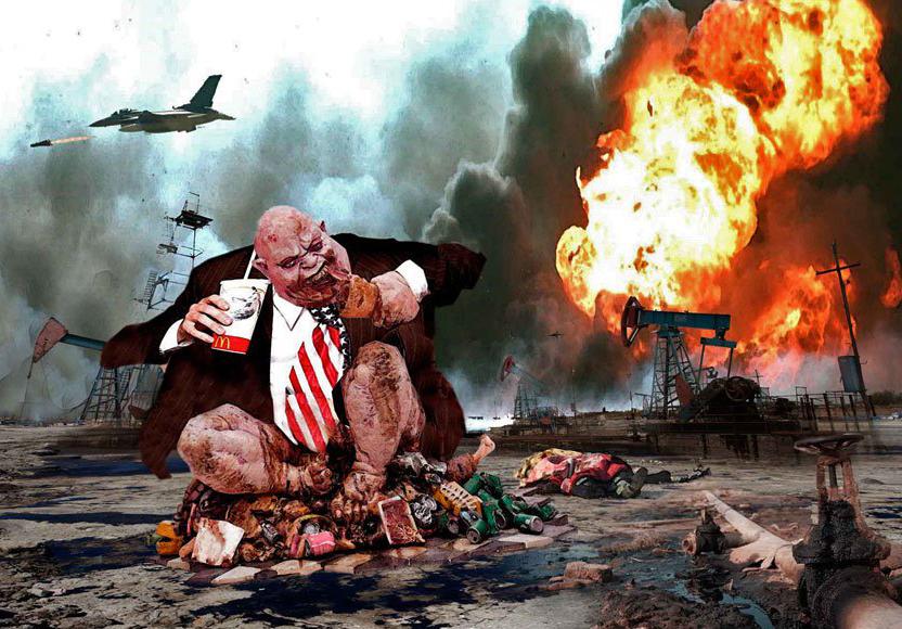 3-я мировая геноцидная термоядерная война в 2020