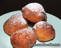 Творожные пончики « Как у бабушки»