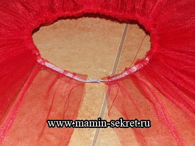 Как сшить пышную юбку tutu из фатина