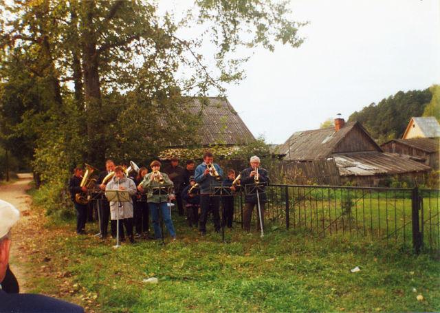 Школьный духовой оркестр OInHv