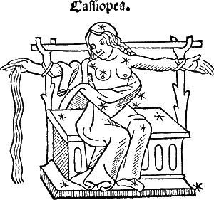 Кассиопея - «cидящая женщина»
