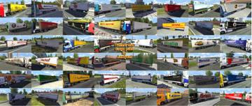 Пак прицепов и грузов V 2 Q2yM1