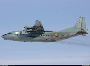 Ан-12ПС - поисково-спасательный самолет JDYBR