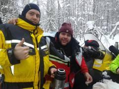 850 км. по Кольскому за 5 дней на снежиках